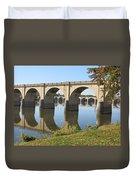 Bridge Upon Bridge Duvet Cover
