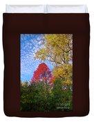 Bright Autumn Color Duvet Cover