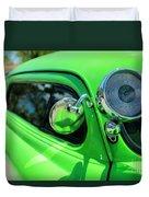 Bright Green Duvet Cover