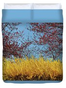 Brightly Comes The Spring Duvet Cover
