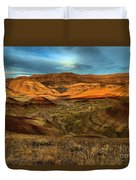 Brightly Painted Hills Duvet Cover
