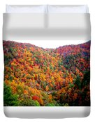 Brilliant Color Trees Duvet Cover