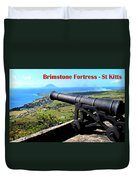 Brimstone Fortress Poster Duvet Cover