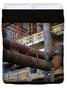 Britannia Mines Duvet Cover