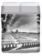 British Cemetery Duvet Cover