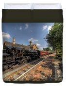 British Locomotion Duvet Cover