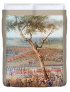 British Troops Surrender At Yorktown Duvet Cover