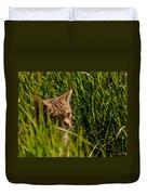 British Wild Cat Duvet Cover