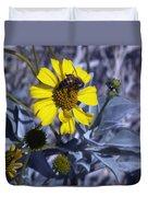 Brittlebush Bee Duvet Cover