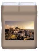Brno Skyline  Duvet Cover