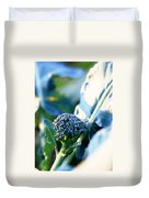 Broccoli Sprout Duvet Cover