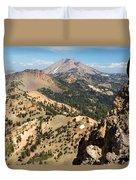 Brokeoff Mountain Peak Duvet Cover