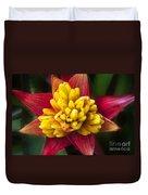 Bromiliad Blossom Duvet Cover