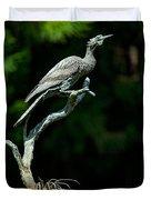 Bronze Cormorant Duvet Cover