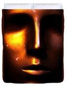 Bronze Likeness Duvet Cover