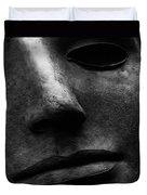 Bronze Mask Duvet Cover