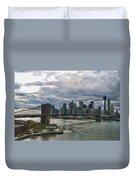 Brooklyn Bridge Carousel Duvet Cover