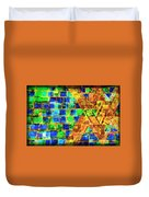 Brooklyn Tile Abstract Duvet Cover