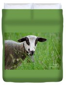 Brown And White Sheep Duvet Cover