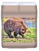 Brown Bear 201 Duvet Cover