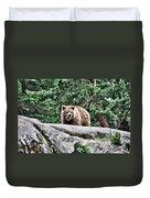 Brown Bear 209 Duvet Cover