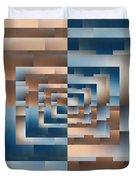 Brushed 13 Duvet Cover by Tim Allen