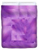 Brushed Purple Violet 10 Duvet Cover