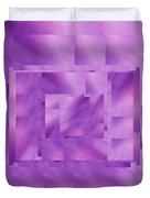 Brushed Purple Violet 11 Duvet Cover
