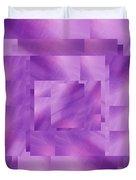 Brushed Purple Violet 4 Duvet Cover