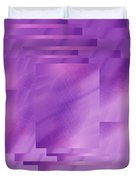 Brushed Purple Violet 8 Duvet Cover