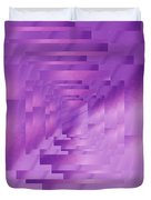 Brushed Purple Violet 9 Duvet Cover