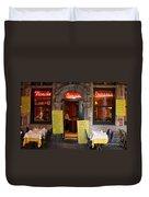 Brussels - Restaurant Savarin Duvet Cover