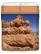 Bryce Canyon - Mask Formation Duvet Cover