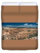 Bryce Canyon Panaramic Duvet Cover