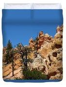 Bryce Canyon Santa Clause Duvet Cover