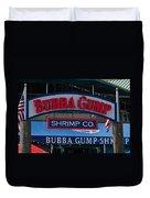 Bubba Gump Duvet Cover