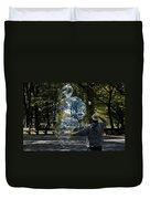 Bubble Boy Of Central Park Duvet Cover