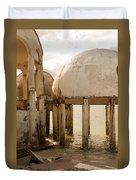 Bubble House I Duvet Cover
