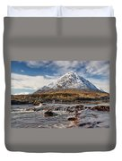 Buchaille Etive Mhor - Glencoe Duvet Cover