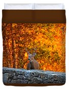 Buck Digital Painting - 01 Duvet Cover