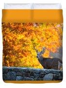 Buck In The Fall 07 Duvet Cover