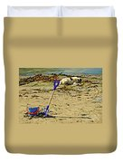 Bucket And Spade Duvet Cover