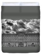 Buckingham Palace Bw Duvet Cover