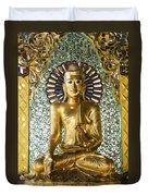 Buddha In Glass Duvet Cover