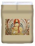 Buddha Painting In Sri Lanka Duvet Cover