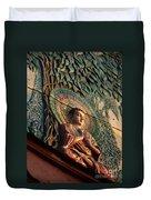 Buddha Relief Duvet Cover