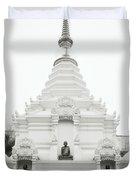 Buddhist Chedi Duvet Cover