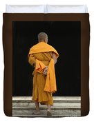 Buddhist Monk 1 Duvet Cover by Bob Christopher