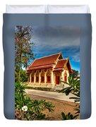 Buddhist Temple Duvet Cover