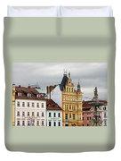 Budweis - Pearl Of Bohemia - Czech Republic Duvet Cover